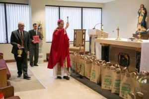 Bishop Blessing Food