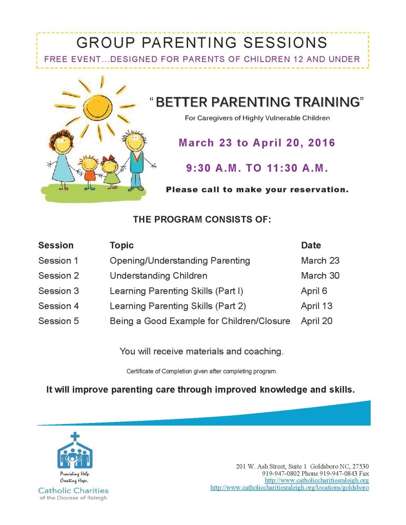 Group Parenting Flyer English