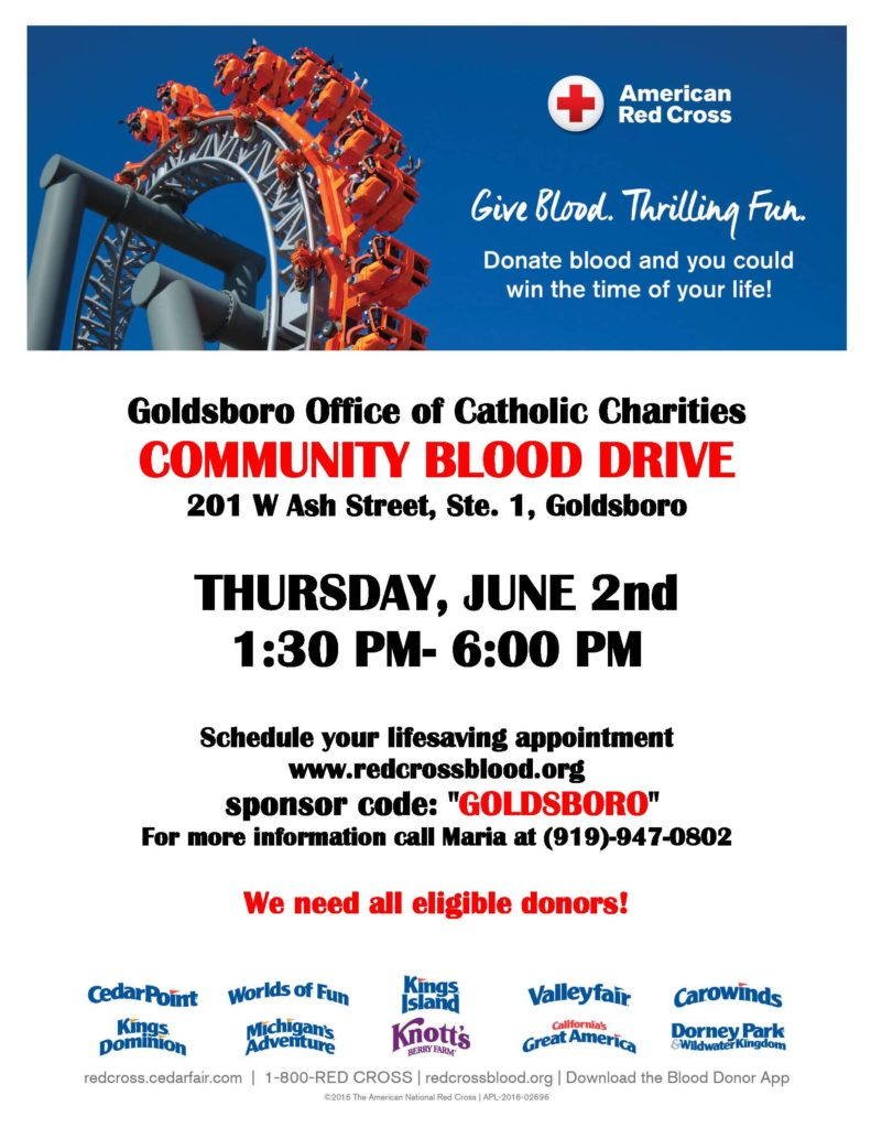 Goldsboro_Community_Blood_Drive_Flyer