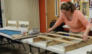 Liz at a Mujeres de Hoy workshop.