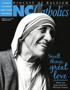 Click the image to read more articles from the September Edition of NC Catholics.