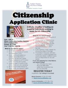 citizen application clinic ENGLISH