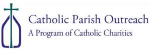 Catholic Parish Outreach Food Pantry Logo